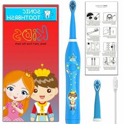 sonic Electric Rechargeable by USB Kids child Toothbrush wat
