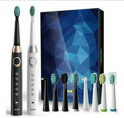 Sboly Sonic Electric Toothbrush Model 508 2 Toothbrushes kit