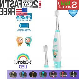 Sonic Electric Toothbrush Rechargeable 2-Minute Timer Ultra
