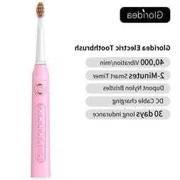 Sonic Electric Toothbrush Rechargeable 5 Model 3 Brush Heads