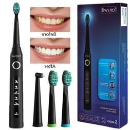 Fairywill Sonic Electric Toothbrushes 5 Modes USB Rechargeab