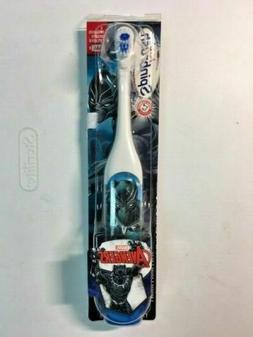 Spinbrush Kids Powered Toothbrush Avengers Black Panther NEW