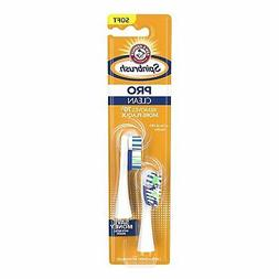 Spinbrush Pro Series Daily Clean Battery Toothbrush Refills,