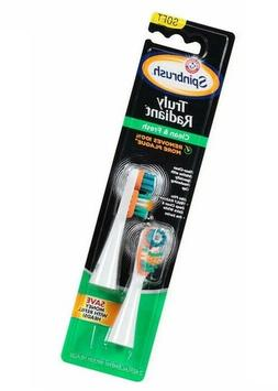 Arm and Hammer Spinbrush Truly Radiant Clean and Fresh Repla