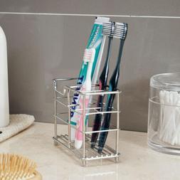 Stainless Steel Toothbrush Razor Holder Office Pen Stand Rac