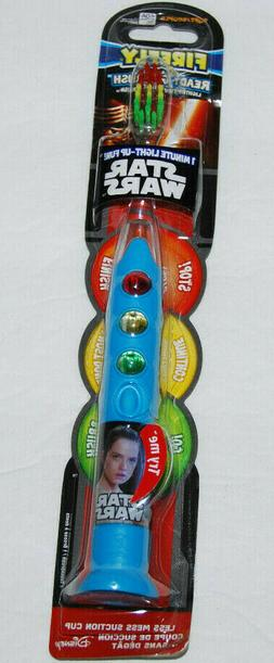 Firefly Kids! Star Wars Light Up Timer Toothbrush, Soft, 1 e