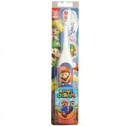 Arm & Hammer Super Mario Brothers Kid's Battery Powered Spin