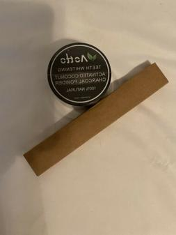 Teeth Whitening Activated Coconut Charcoal Powder With Bambo
