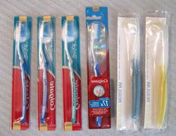 Thin Tip Toothbrushes Lot of 6 - Colgate Slim Soft  + Nimbus