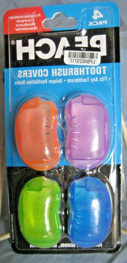 toothbrush cover travel pack 4ct