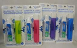 Dental Source Travel Toothbrush and Crest Toothpaste Kit