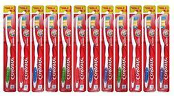 Colgate Toothbrush 12 Pack Firm Medium full Head Extra Clean