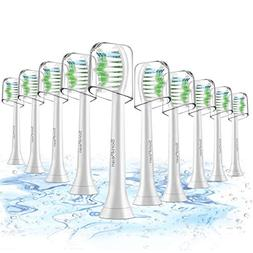 Toothbrush Heads, 10 Pack Sonicare Replacement Brush Heads F