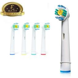 8 PC Toothbrush Heads Replacement Tooth Brush Braun Oral B S