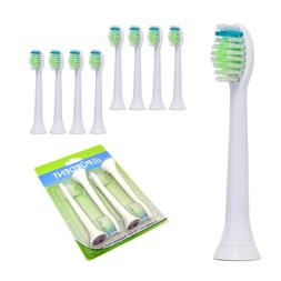 8 Pürdent Toothbrush Heads Replacement Brush For Philips DI