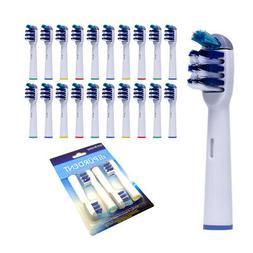 4 pcs Toothbrush Heads Replacement Tooth Brush Braun Oral B
