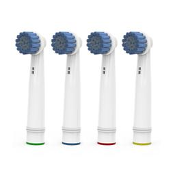 4 Pürdent Toothbrush Heads Replacement Brush For Braun Oral