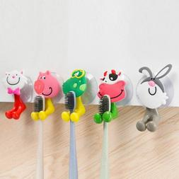 Toothbrush Holder For Bathroom Kids Cup Funny Carton Accesso