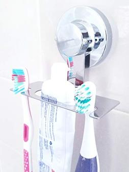 Toothbrush Holder SUCTION CUP, MIRROR, TILE, toothbrush hold