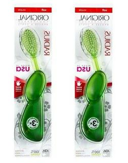 Radius - Toothbrush Original Adult Right Hand Soft - 2 Packs