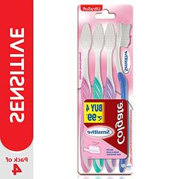 Colgate Toothbrush Sensitive, Pack of 4 Brushes
