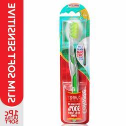 Colgate Toothbrush Slim Soft Advanced, Ultra Soft Toothbrush