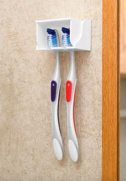 Toothpaste Toothbrush Holder Home Bathroom Wall Mount Stand
