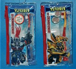 Transformers Toothbrush Kit by Firefly - 2 Pack
