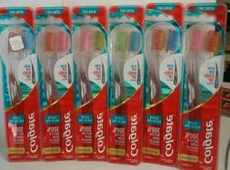 6 TWIN PACKS COLGATE ULTRA SOFT SLIM FLOSS TIP TOOTHBRUSHES
