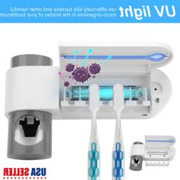 UV Light Sterilizer Toothbrush Holder Cleaner & Automatic To