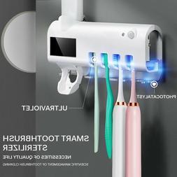 UV Light Sterilizer Toothbrush Holder Sanitizer Cleaner Toot