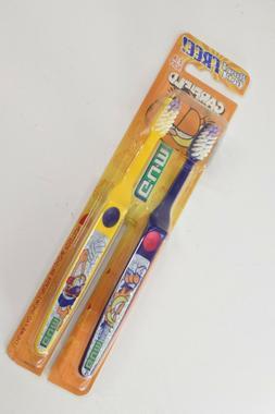 Vintage BUTLER G.U.M Garfield Toothbrush Twin Pack Sealed 21