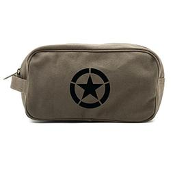 World War 2 Military Jeep Star Canvas Shower Kit Travel Toil