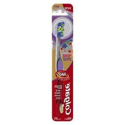 Colgate 360 4 Zone Whole Mouth Clean Manual Toothbrush, Soft
